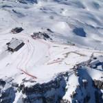 Val D'Isere: pista Face de Bellevarde